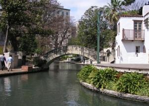 The Riverwalk in San Antonio