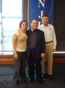 Lisa Thumann, Marc Prensky and Ned Davis