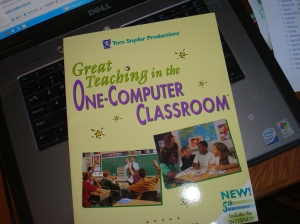 My copy of the 1998 version of Tom Snyder's One-Computer Classroom